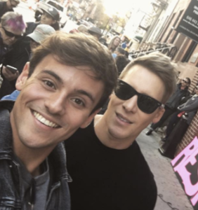 Tom Daley on cybersexing with a fan and how it brought him and Dustin Lance Black closer together