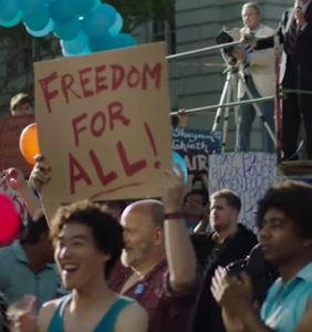 """ABC bumps LGBTQ rights miniseries """"When We Rise"""" to cover more Trump"""