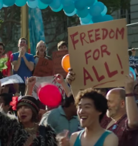"ABC bumps LGBTQ rights miniseries ""When We Rise"" to cover more Trump"