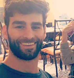 Gay actor Chris Salvatore has decided to take in his suffering, elderly neighbor