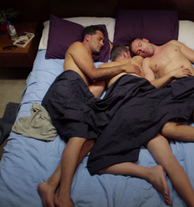This couple's addiction to nonstop threesomes nearly ended their relationship