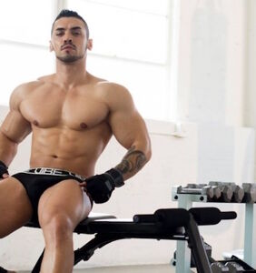 Bodybuilder/underwear model Arad Winwin opens up about fleeing Iran and his time in Turkish jail
