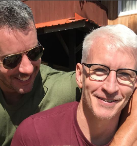 What made Anderson Cooper hiss at longtime partner Benjamin Maisani?