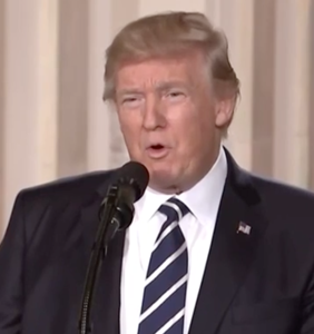 "Trump just came down hard on the side of ""religious liberty,"" AKA homophobia"