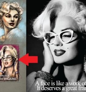 Commemorative Marilyn Monroe stamp uses drag queen by mistake