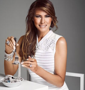 """Melania Trump would like to remind everyone that Christmas is """"not about gifts"""" or material things"""