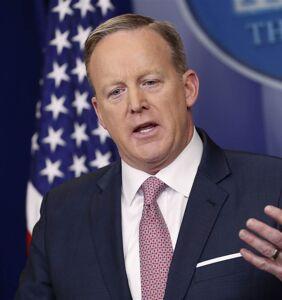 Press Secretary has no idea whether Trump will roll back LGBT protections
