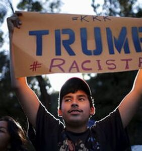 Trump tries to ban Muslim refugees except those who work for Trump; gets shot down by judge