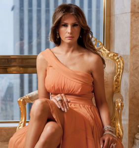 Melania Trump publicly thanks D-list actress on Twitter for coming to her defense