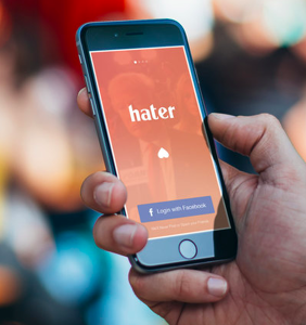 """New dating app """"Hater"""" pairs up singles based in their mutual hatred for things"""