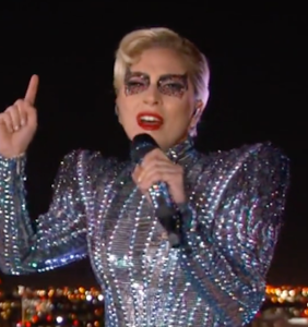Did you notice the hidden message in Gaga's SuperBowl halftime show?