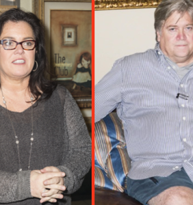 Rosie O'Donnell is all in to play Steve Bannon on SNL. Think about it.