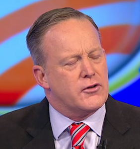 Sean Spicer pulls a Kellyanne Conway; cites Atlanta terror attack that never happened