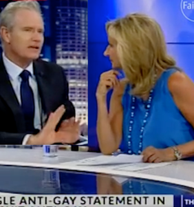 WATCH: News anchor LOSES IT with homophobic colleague on live TV