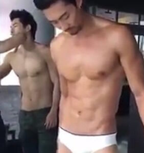 WATCH: Wanna work as a fashion assistant who moisturizes male models all day?