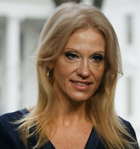 Kellyanne Conway reportedly yanked off the air for a week, for reasons you can probably guess