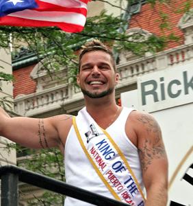 Ricky Martin loves 'greasy stuff'