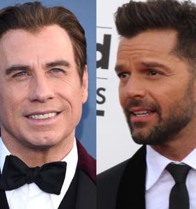 This just in: John Travolta helped stir up Ricky Martin's gayness