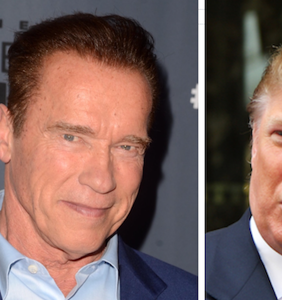 """Arnold Schwarzenegger: Donald Trump is """"in love with me"""""""