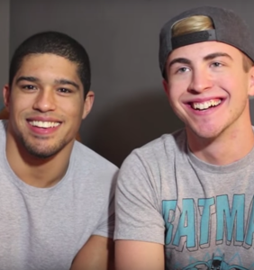 Pro wrestler comes out as bi after posting adorable video with his super cute boyfriend