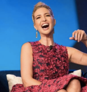Wait, what?! Ivanka Trump laughs her way to the bank as her brand's sales skyrocket