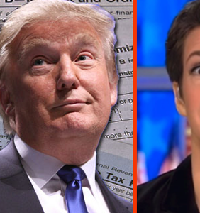 Rachel Maddow has Trump's Tax Returns, and will air them tonight. Seriously.