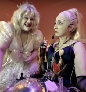 'Baby Jane' parody with Courtney Love, Madonna impersonators is uncanny and amazing