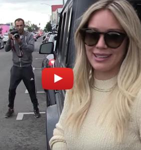 TMZ stalks Hilary Duff, then mocks her message about LGBTQ rights. Huh?!