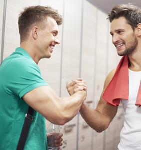 What do straight guys really do in the locker room? Keegan Hirst reveals the truth.