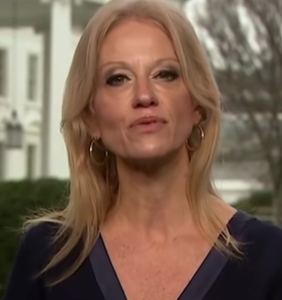 You'll never guess who Kellyanne Conway's creepy drag twin is