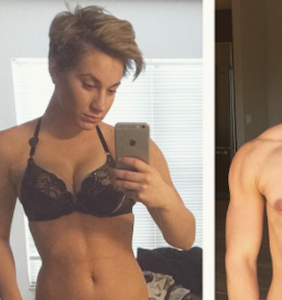 Trans musician Jaimie Wilson shares stunning before-and-after images
