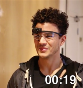 Five men were given eye-tracking glasses and put in front of a male underwear model. Where did they look?