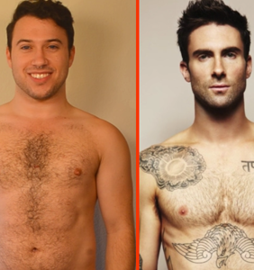 This guy is sending a body-positive message by recreating iconic celebrity photos