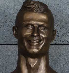 The Internet cannot stop freaking out about that deeply unsettling Cristiano Ronaldo statue