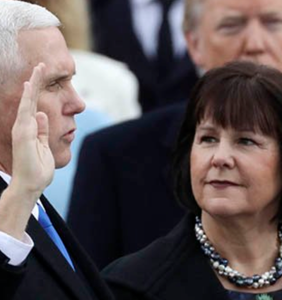 The only woman Mike Pence is allowed to dine alone with is his wife
