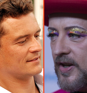 Everyone still has an opinion on THOSE Orlando Bloom pics, even Boy George