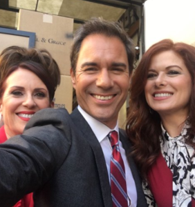 Your first peek behind the scenes of the new 'Will & Grace' reboot