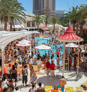 The Las Vegas Dayclub pool party scene is hotter than ever