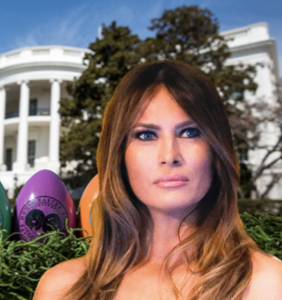 Easter at the White House has been ruined thanks to Melania Trump. Sad!