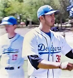 Super cute professional baseball player comes out on live TV