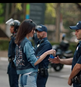 Twitter is outraged over new Pepsi ad featuring Kendall Jenner at a protest