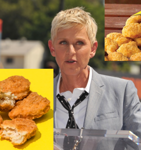 Ellen DeGeneres is about to be taken down by a teen's chicken nuggets