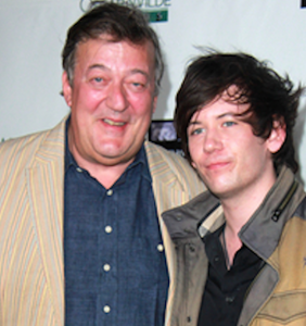Stephen Fry says husband is an 'expert' at monitoring his mental health