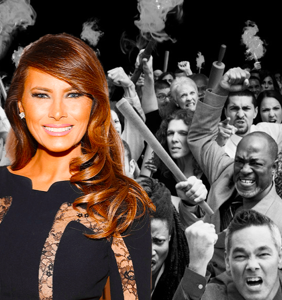 The entire Internet is pissed at Melania Trump for ruining Easter at the White House