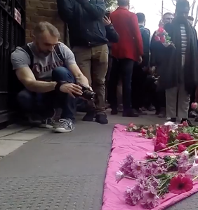 Hundreds gather in London to protest Chechen attacks on gay men
