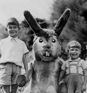 PHOTOS: The most disturbing Easter Bunnies on Instagram