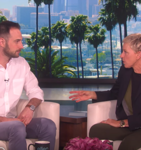 Ellen trolls handsome English teacher who trolled his class (in the gayest possible way)