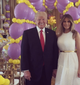 Melania Trump hosted a private Easter Egg Roll exclusively for the rich and powerful