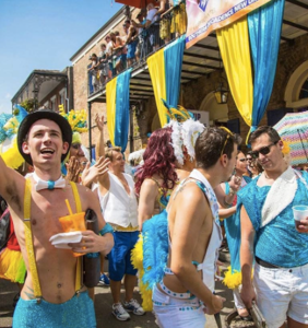 PHOTOS: The annual Gay Easter Parade in New Orleans was a giant pastel feathered fête