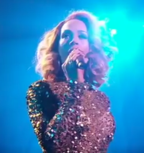 She sounds exactly like Whitney Houston and it's blowing people's minds